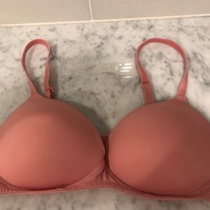 VS Pink 36D Push Up Bra